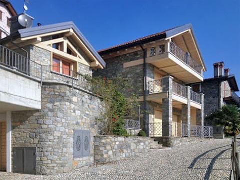 Bilder von Comer See Ferienwohnung Giglio_Giallo_Gravedona_55_Haus