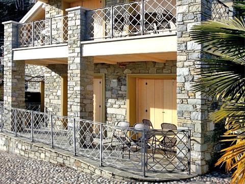 Bilder von Comer See Ferienwohnung Giglio_Giallo_Gravedona_56_Haus
