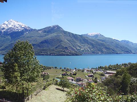 Bilder von Comer See Ferienwohnung Giglio_Rosso_Gravedona_25_Panorama