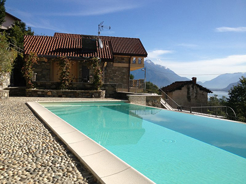 Bilder von Lake Como Apartment Giglio_Viola_Gravedona_15_Pool