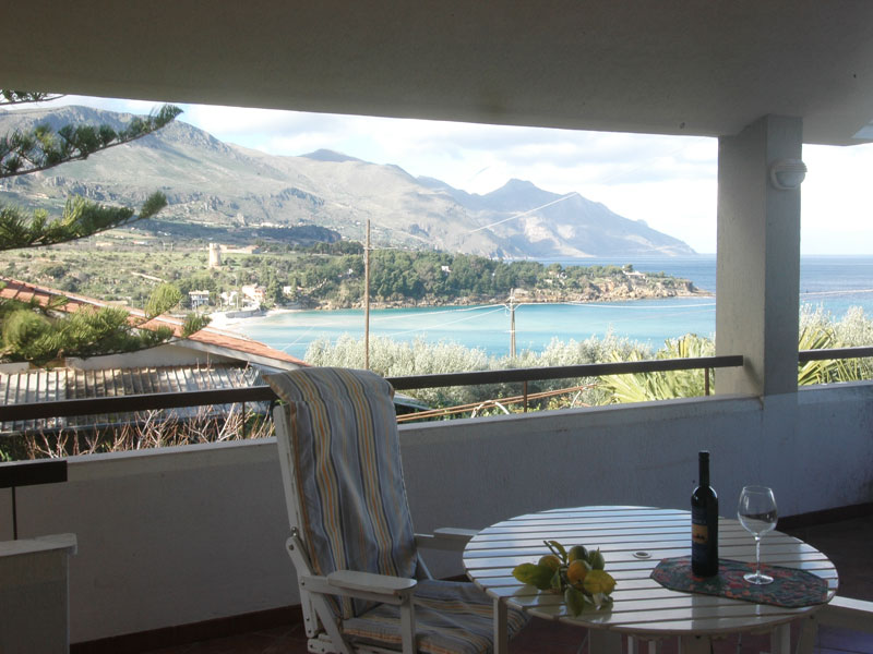 Bilder von Sicile North Coast Villa Guidaloca_Castellammare_del_Golfo_11_Terrasse