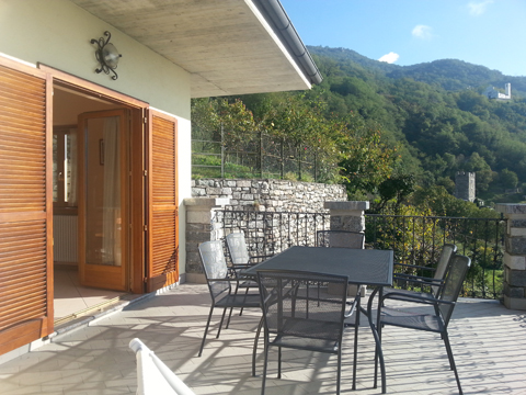 Bilder von Comer See Ferienwohnung I_Runchet_Airone_Sorico_10_Balkon