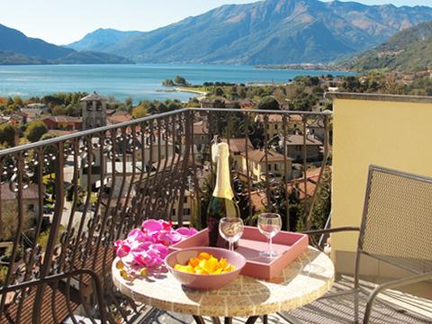 Bilder von Comer See Ferienwohnung I_Runchet_Cigno_Sorico_10_Balkon