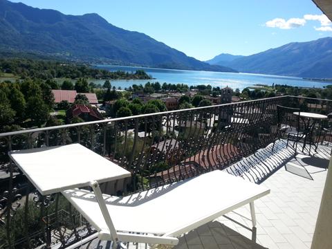 Bilder von Lago di Como Appartamento I_Runchet_Cigno_Sorico_11_Terrasse