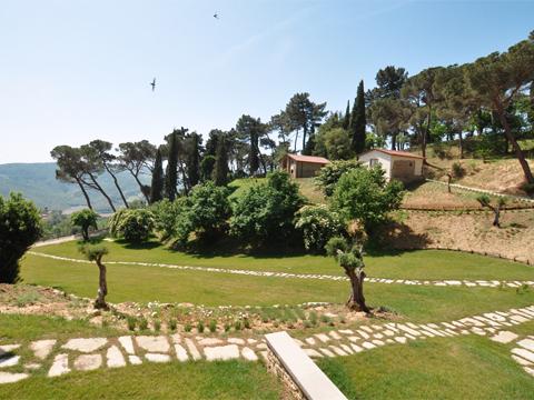 Bilder von Umbrien Ferienwohnung Il_Borgo_di_Toppo_Stalla_Citta_di_Castello_25_Panorama