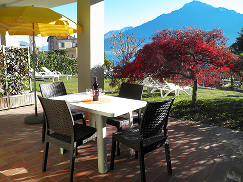 Bilder von Comer See Ferienwohnung Il_Bosso_102_Domaso_10_Balkon