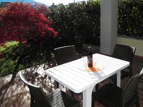 Bilder von Lago di Como Appartamento Il_Bosso_102_Domaso_20_Garten