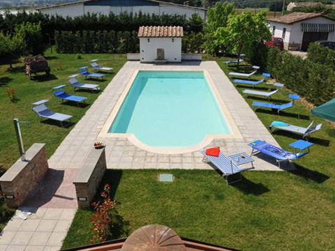 Bilder von Umbrië Appartement Il_Pero_Citerna_15_Pool
