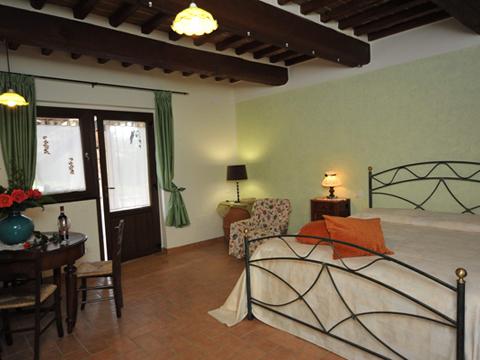 Bilder von Ombrie Appartement Il_Pero_Citerna_45_Schlafraum