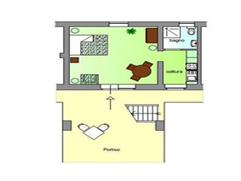 Bilder von Umbrië Appartement Il_Pero_Citerna_70_Plan