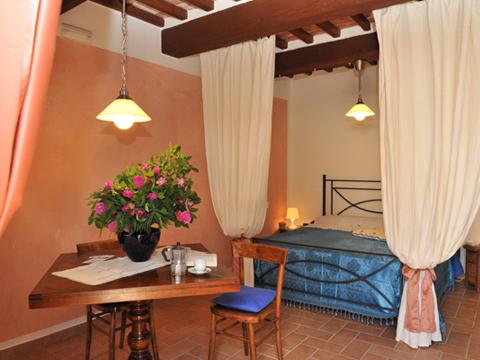 Bilder von Ombrie Maison de vacances Il_Pesco_Citerna_40_Doppelbett-Schlafzimmer