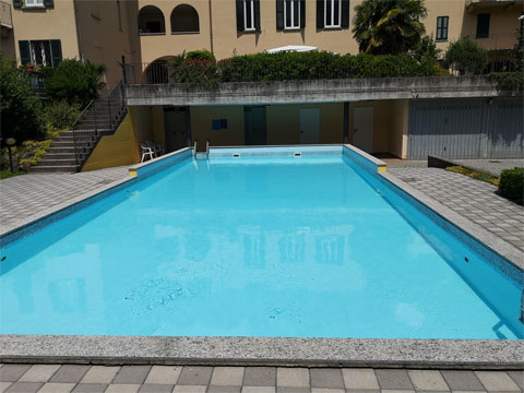 Bilder von Comer See Ferienwohnung Isella_Carlazzo_15_Pool