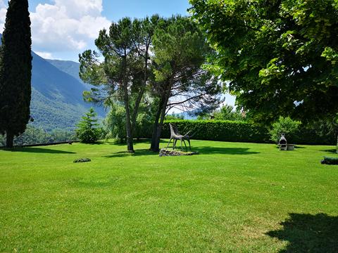 Bilder von Comer See Ferienwohnung Isella_Carlazzo_20_Garten