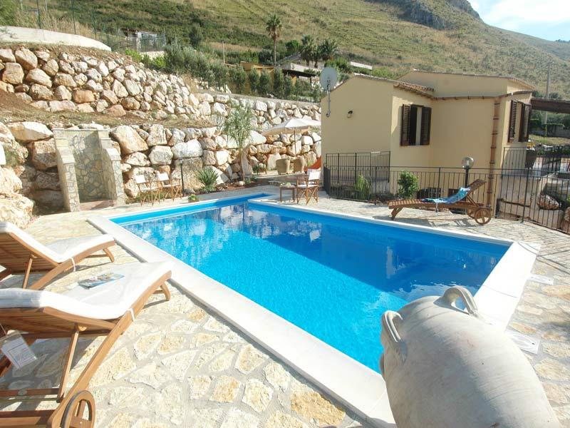 Bilder von Sizilien Nordküste Villa Juliette_Castellammare_del_Golfo_10_Balkon