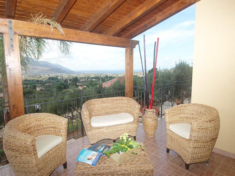 Bilder von Sizilien Nordküste Villa Juliette_Castellammare_del_Golfo_26_Panorama