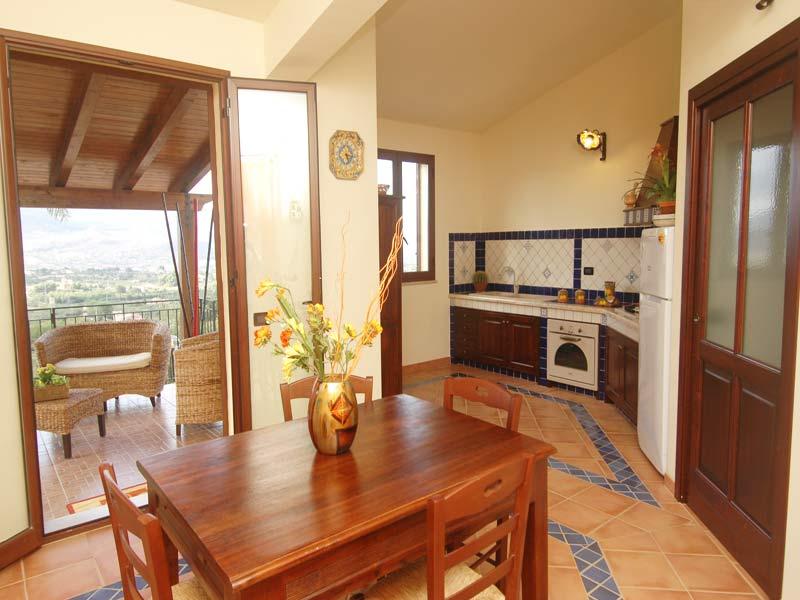 Bilder von Sizilien Nordküste Villa Juliette_Castellammare_del_Golfo_36_Kueche