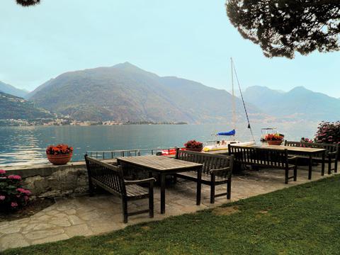 Bilder von Comer See Ferienwohnung La_Baia_Cremia_11_Terrasse