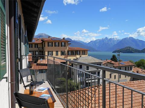 Bilder von Comer See Ferienwohnung Liliana_Pianello_del_Lario_10_Balkon