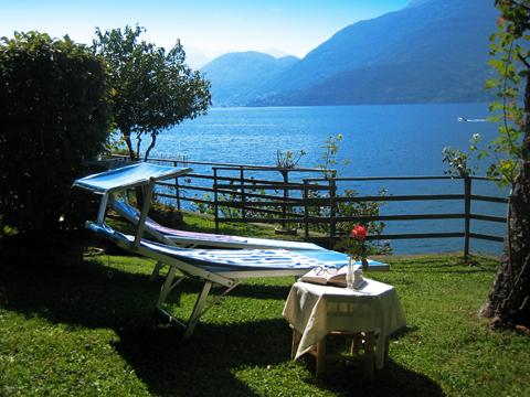 Bilder von Lago di Como Appartamento Lilli_Dervio_21_Garten
