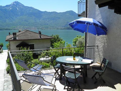 Bilder von Comer See Ferienwohnung Lina_Gera_Lario_10_Balkon