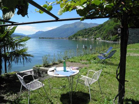 Bilder von Comer See Ferienwohnung Lina_Gera_Lario_20_Garten