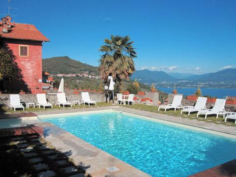 Bilder von Lago Maggiore Ferienwohnung Mariucca_Azalea_757_Lesa_15_Pool