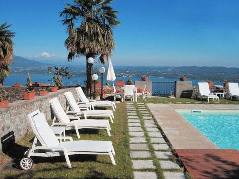 Bilder von Lake Maggiore Appartement Mariucca_Azalea_757_Lesa_20_Garten