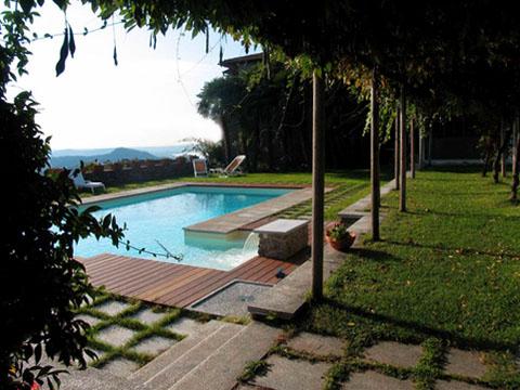 Bilder von Lac Majeur Appartement Mariucca_Camelia_754_Lesa_21_Garten