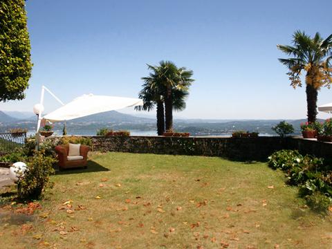 Bilder von Lago Maggiore Ferienwohnung Mariucca_Magnolia_756_Lesa_20_Garten