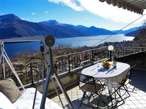 Bilder von Lake Como Holiday home Marta_Dongo_20_Garten