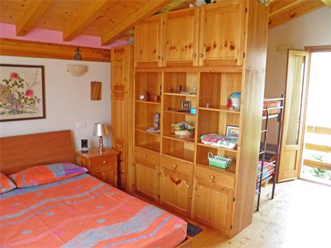 Bilder von Comer See Ferienwohnung Melissa_Primo_Vercana_41_Doppelbett