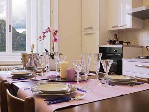 Bilder von Comer See Ferienwohnung Meraviglia_Bellagio_35_Kueche