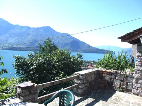 Bilder von Comer See Ferienwohnung Minerali_Vercana_10_Balkon