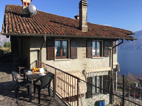 Bilder von Comer See Ferienwohnung Miralago_Menaggio_10_Balkon