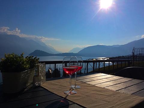 Bilder von Comer See Ferienwohnung Miralago_Menaggio_11_Terrasse
