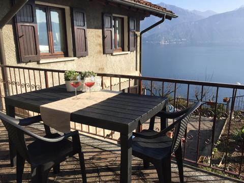 Bilder von Comer See Ferienwohnung Miralago_Menaggio_55_Haus