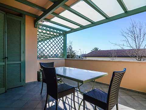 Bilder von Versilia Ferienwohnung Monolocale_forte_dei_marmi_Forte_dei_Marmi_10_Balkon