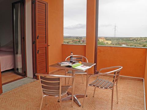 Bilder von Sardinien Nordküste Ferienresidenz Montiruju_Balcony_Santa_Maria_Coghinas_10_Balkon