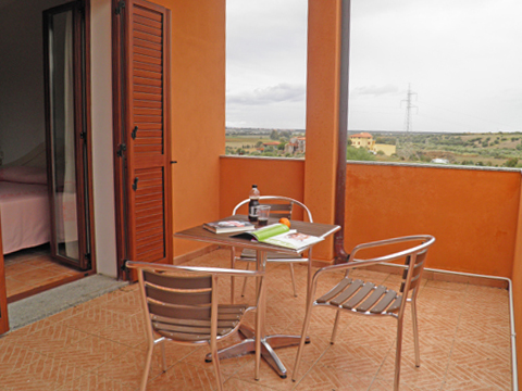 Bilder von Sardinië noordkust Residence Montiruju_Balcony_Santa_Maria_Coghinas_10_Balkon