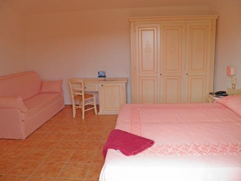 Bilder von Sardinien Nordküste Ferienresidenz Montiruju_Balcony_Santa_Maria_Coghinas_30_Wohnraum