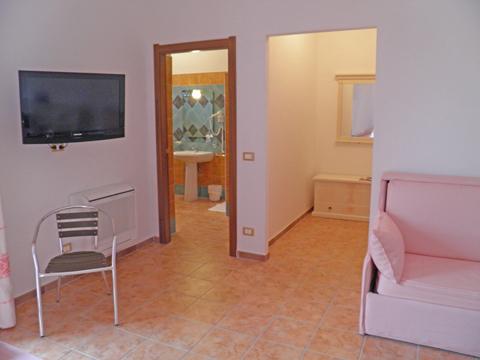 Bilder von Sardinien Nordküste Ferienresidenz Montiruju_Balcony_Santa_Maria_Coghinas_31_Wohnraum