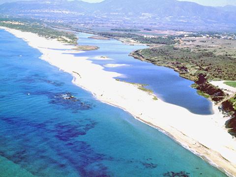 Bilder von Sardinien Nordküste Ferienresidenz Montiruju_Balcony_Santa_Maria_Coghinas_65_Strand