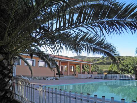 Bilder von Sardinien Nordküste Ferienresidenz Montiruju_Standard_III_Santa_Maria_Coghinas_20_Garten
