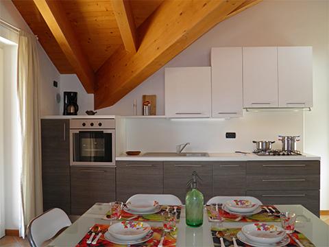 Bilder von Lac de Côme Appartement Nella_Pianello_del_Lario_35_Kueche