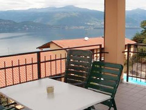 Bilder von Lago Maggiore Appartamento Nina_569_Pino_10_Balkon