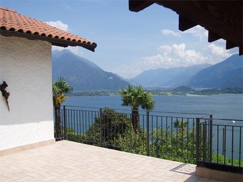 Bilder von Comer See Ferienwohnung Nonna_Marisa_Vercana_10_Balkon
