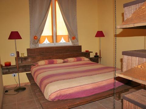 Bilder von Adria Ferienwohnung Oca_Gialla_Montenero_di_Bisaccia_40_Doppelbett-Schlafzimmer