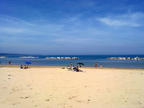 Bilder von Adria Ferienwohnung Oca_Gialla_Montenero_di_Bisaccia_65_Strand