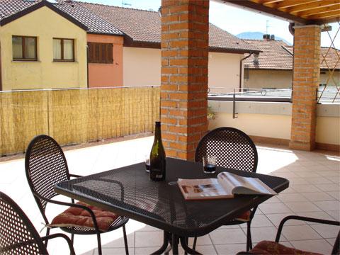 Bilder von Comer See Ferienwohnung Ortensia_secondo_Acquaseria_10_Balkon