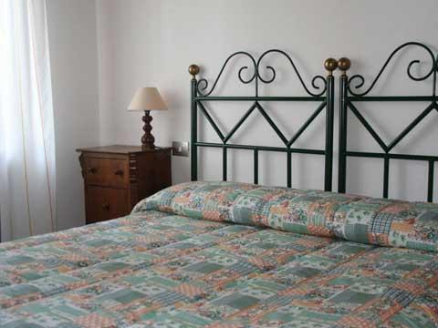 Bilder von Chianti Ferienwohnung Palei_B_Castelnuovo_Berardenga_40_Doppelbett-Schlafzimmer